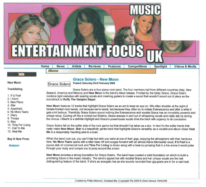 Entertainment-focus