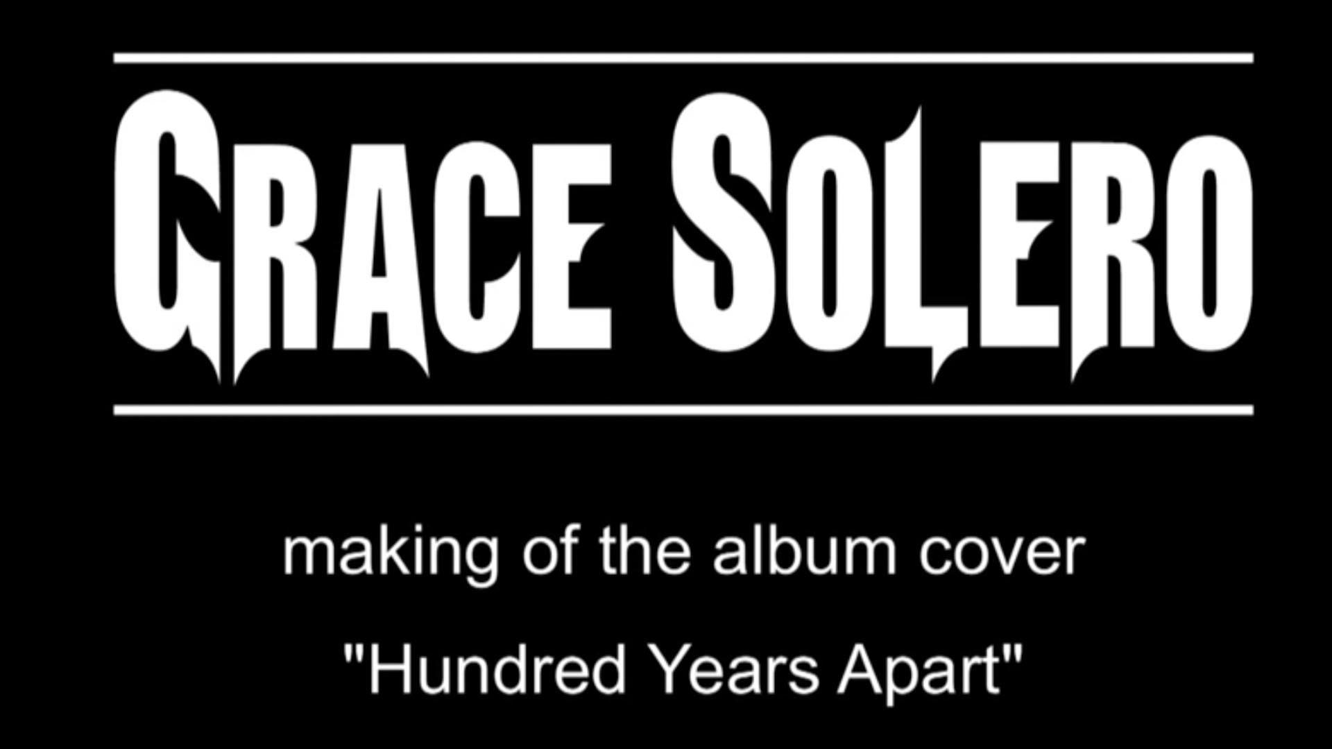 GRACE_SOLERO_making_the_album_cover_Hundred_Years_Apart